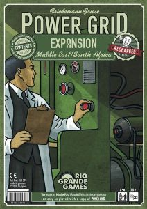 Power Grid: Expansion - Middle East / South Africa